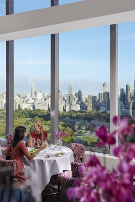 6. NEW YORK, US: Gourmet dining reaches dizzying new heights at Asiate, the culinary centrepiece of the Mandarin ...