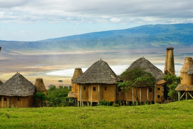4. TANZANIA, AFRICA: Had Ngorongoro Crater Lodge been operating at the time, it is the sort of place Denys Finch Hatton ...
