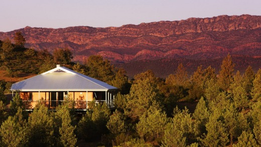Luxury Eco-villas Rawnsley Park Station Flinders Ranges.