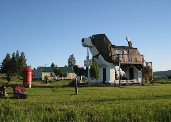 Dog Bark Park, Idaho: If you're a chainsaw artist planning to run a B&B, you may as well get creative to show off your ...