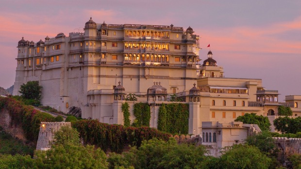 RAAS Devigarh is a mighty pile of granite and marble in the brooding Rajasthan tradition.