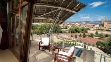 Hotel Marques de Riscal, Spain: When you get Frank Gehry in to design your hotel, it's a pretty safe bet that you're not ...