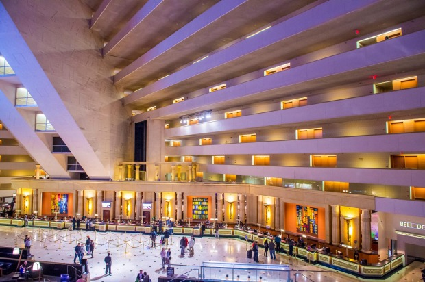The Luxor, Las Vegas: Vegas isn't exactly running short on ludicrously gaudy accommodation options, but the Luxor takes ...