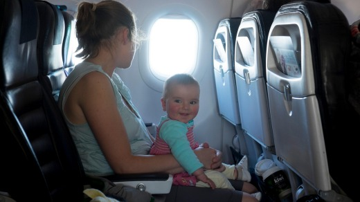 Business class passengers on Thai Airways' new Dreamliners will be happy about the ban on parents with very young children.