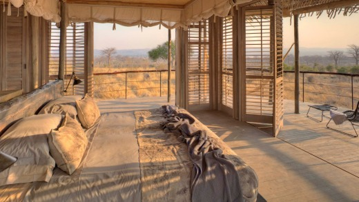 Jabali Ridge hotel Kwahali Tented Camp.