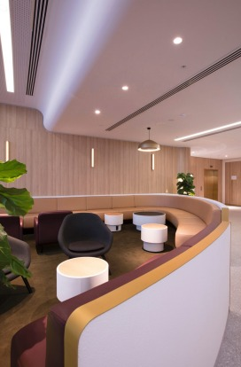 Designed by David Caon and SUMU design, the lounge was also developed in consultation with the University of Sydney's ...