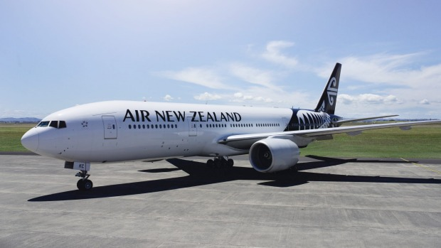 Air New Zealand's Boeing 777-200ER.