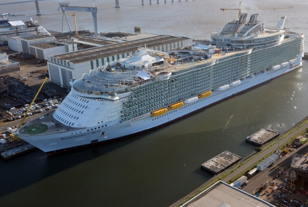 Royal Caribbean International's newest ship, Symphony of the Seas.