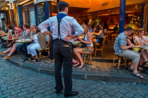 France's reputation for producing surly waiters is known the world over and has stood the test of time.