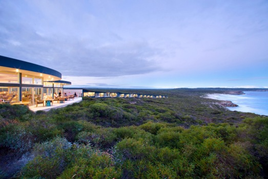 SOUTHERN OCEAN LODGE, KANGAROO ISLAND, SOUTH AUSTRALIA On a stormy day, the Great Southern Ocean is a fearsome sight – ...