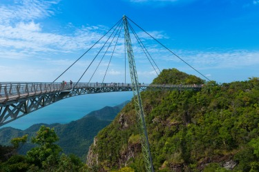 The Langkawi SkyBridge, Malaysia: Other bridges manage to be much scarier without having to resort to harnesses and ...