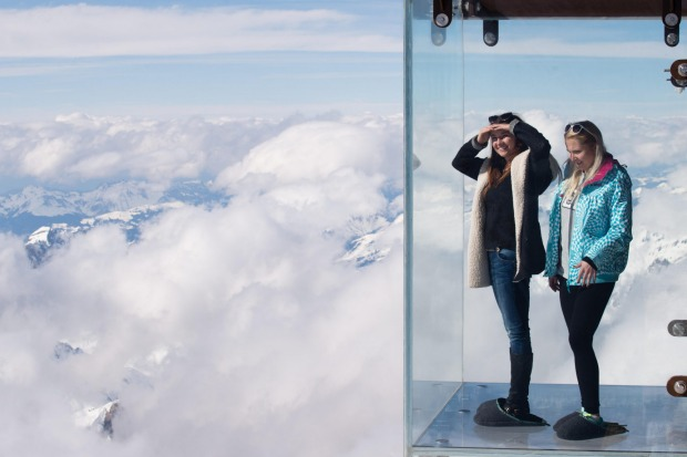 Step Into The Void, France: If the cable car up the Mont Blanc massif to Aiguille du Midi at 3,777 metres isn't quite ...