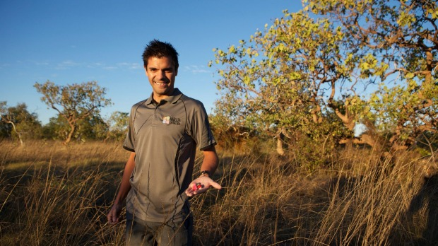 Bart Pigram runs walking tours in the Kimberley and is an expert on the area's ancient and modern history.