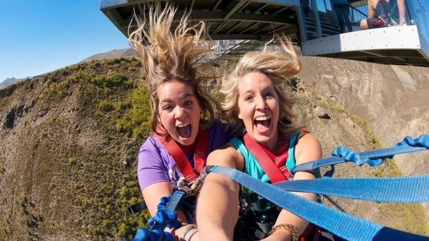 The Nevis, New Zealand: Perhaps worse than dangling over a gorge in a tiny cable car is knowing that, very soon, you're ...