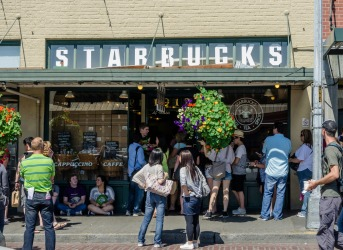 Home of Starbucks - Seattle, Washington State: Inside Seattle's Pike Place Market, the joint called the Original ...