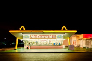 This was the third McDonald's restaurant, and opened on August 18, 1953.