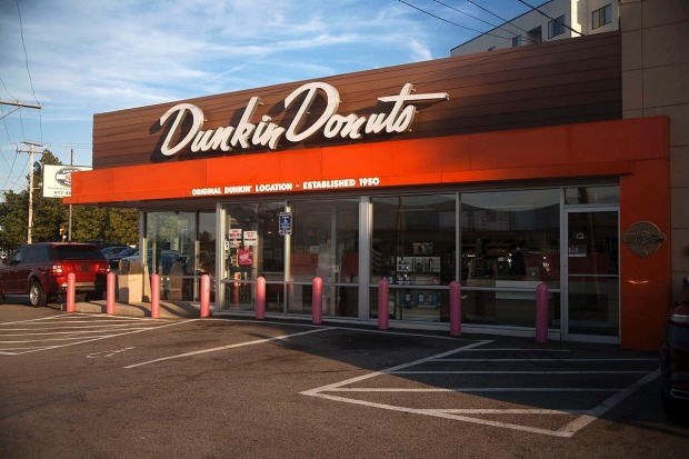 "Home of Dunkin' Donuts - Quincy, Massachusetts: Initially called ""Open Kettle"" in 1948, then renamed Dunkin' Donuts in ..."