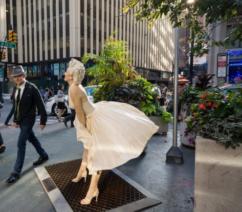 THE SUBWAY GRATE THAT BLEW UP MARILYN MONROE'S DRESS  It's probably the most famous subway grate in the world. At one ...