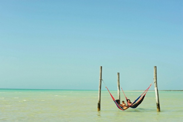 This is how you holiday on Isla Holbox.
