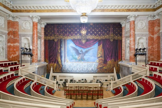 HERMITAGE THEATRE: The monumental Mariinsky Opera and Ballet Theatre is the home of St Petersburg's – and probably ...