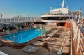 The pool aboard Cunard's Queen Elizabeth.