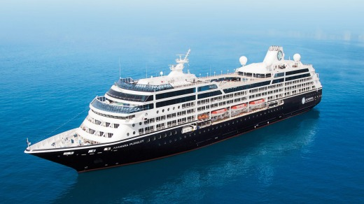 Azamara Pursuit is an elegant ship of understated appeal.