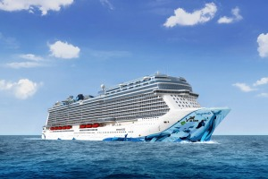 Distinct luxury: Norwegian Bliss.