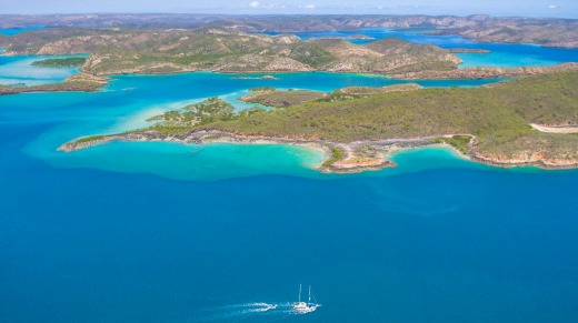 Ahoy Buccaneer offers several cruises of the Kimberley coast and the Torres Strait aboard the MV Oceanic.
