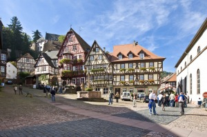 Find traces of history dating back to the Bronze Age in Miltenberg, Germany.