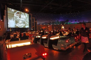 GJ67K6 Orlando, Florida, USA. January 13th, 2010. The Sci-Fi Dine-In Theater in Disney's Hollywood Studios. Lucy ...