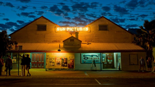 Sun Pictures, the open-air cinema that has been in operation in Broome since 1912.