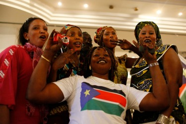 South Sudan: The jutting triangle trick – as popularised by Cuba and the Czech Republic, but done especially well by ...