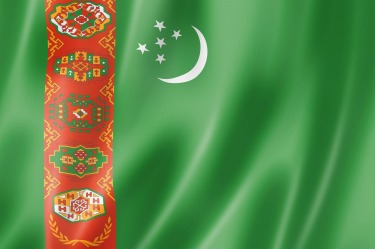 Turkmenistan: The worst offender for the intricately-patterned column, however, is Turkmenistan. This looks like the ...