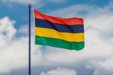 Mauritius: It's not as bad as the Central African Republic's atrocity, but the Mauritius flag proves once and for all ...