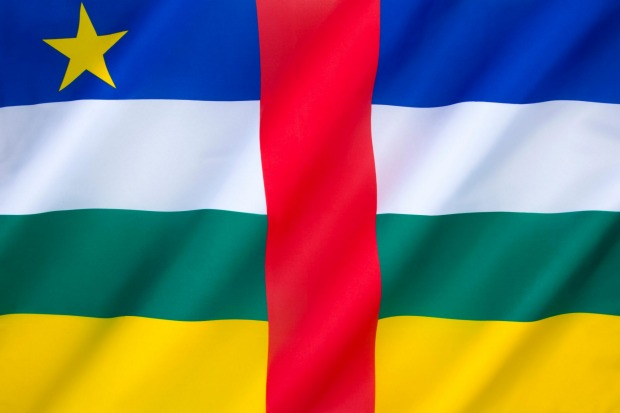 Central African Republic: Looking entirely as if it was designed by committee, the Central African Republic abandons ...