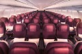 Qatar Airways' A330 economy cabin.