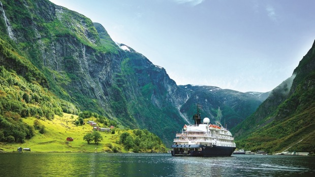 Nordic beauty: With coastlines riven with islands and fjords, Norway is an ideal country to explore on a small ship.
