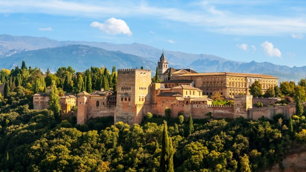 ALHAMBRA, SPAIN. You have next to no chance of getting into this Moorish-Spanish palace in Granada unless you book well ...