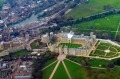 An aerial view of Windsor Castle.