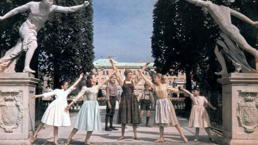 A scene from <i>The Sound of Music</i>.