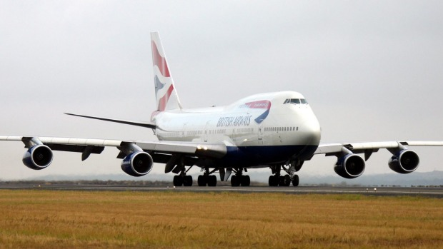 British Airways still flies Boeing 747 jumbo jets across the Atlantic to America.