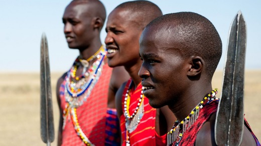 The Mara Plains Camp runs village visits and the chance to meet Maasai tribesmen.