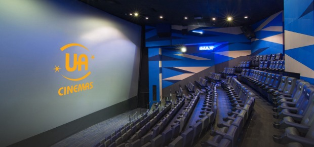 An IMAX cinema – Hong Kong: Hong Kong's largest screen can be found inside the airport, where the 350-seater UA IMAX ...
