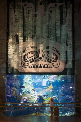 An aquarium – Vancouver: Anything the Rijksmuseum can do, Vancouver Aquarium can do better. Their offshoot inside ...