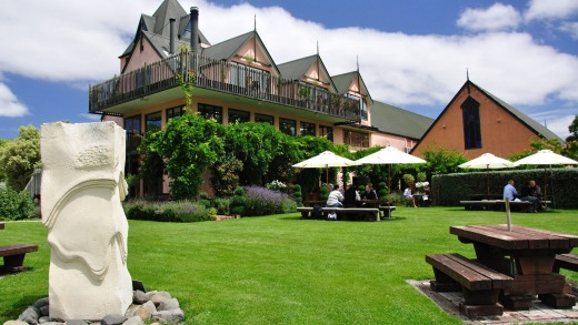 Pegasus Bay Winery and Restaurant, Waipara, Canterbury Region, South Island, New Zealand.