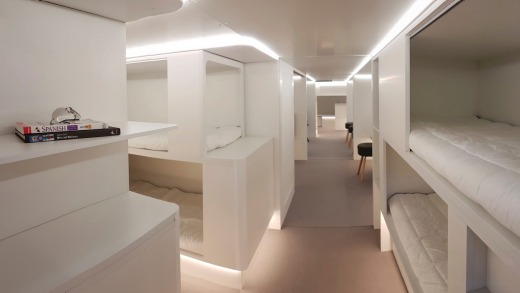 Airbus and Zodiac Aerospace are developing passenger sleeping compartments that could sit in a plane's cargo hold.