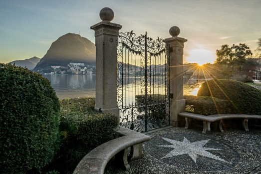 LAKE LUGANO, SWITZERLAND: On the southern flanks of the Alps, Switzerland becomes Italian-speaking and hints of the ...