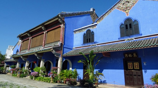 Cheong Fatt Tze Mansion won awards for its renovation as a boutique hotel.
