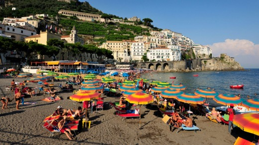 Italy's Amalfi Coast is a destination Tony Sheldon has always wanted to visit.