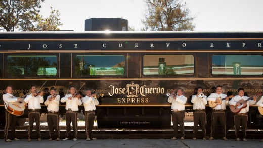The Jose Cuervo Express to Tequila.